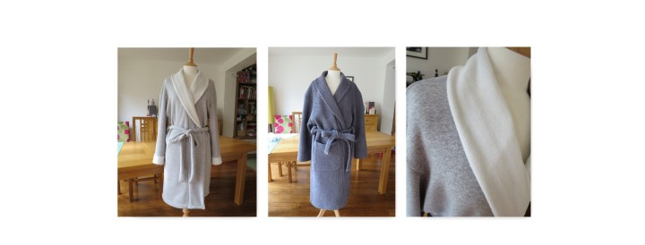 His 'n' Hers dressing gowns: Burda 2653