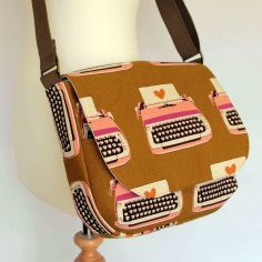 Typewriter satchel by Jenny Gale
