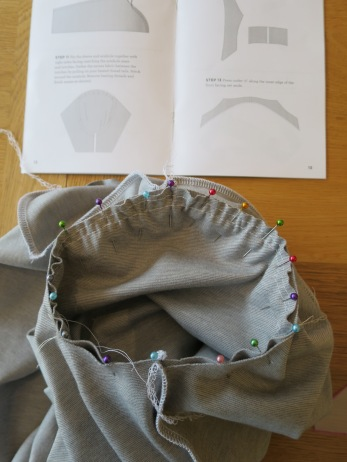 setting in sleeves