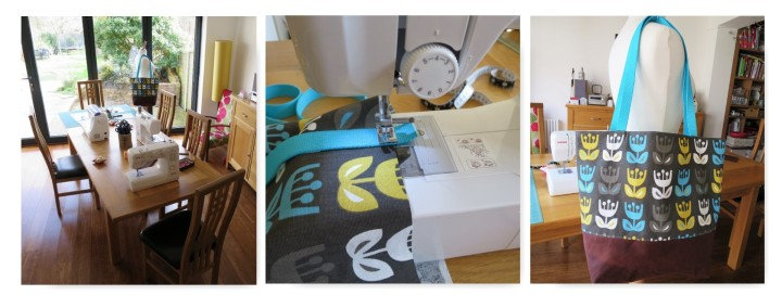 sewing course collage