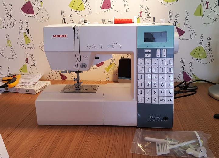 new sewing machine