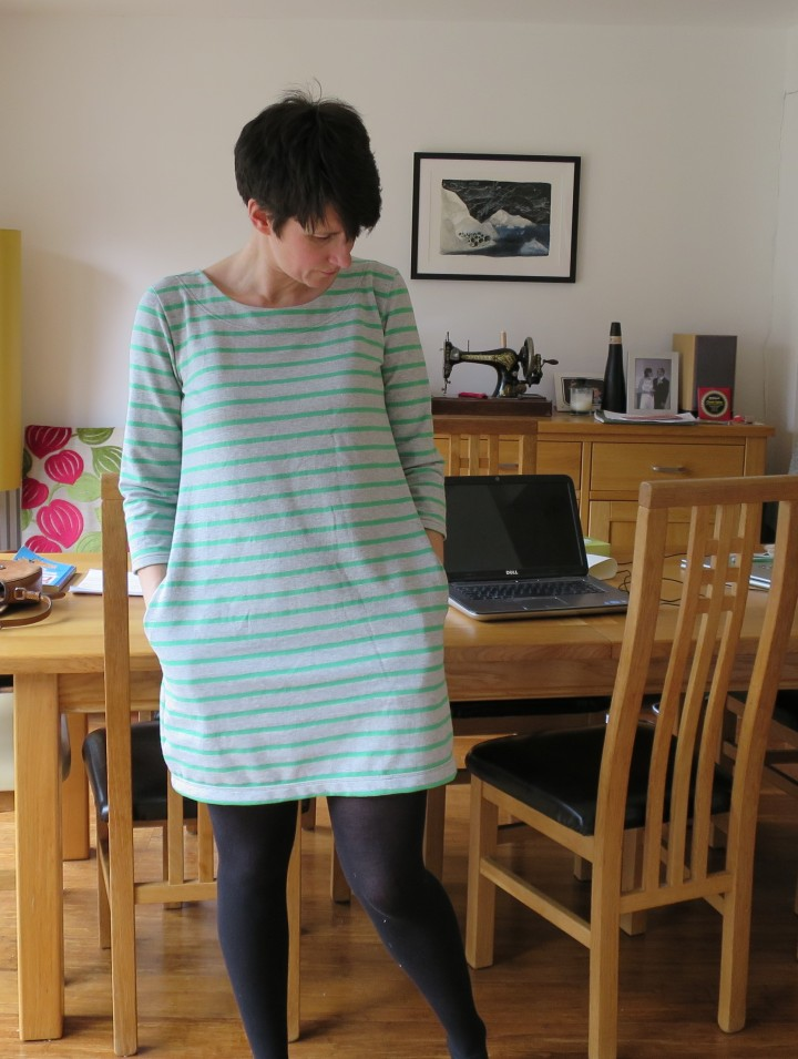 self drafted tunic