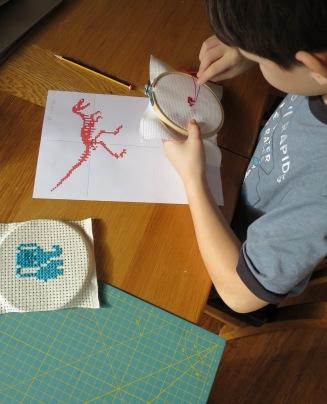 ben-sewing