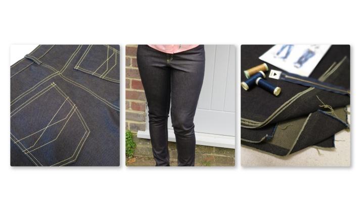 Ginger Jeans: sewing like aSuperhero
