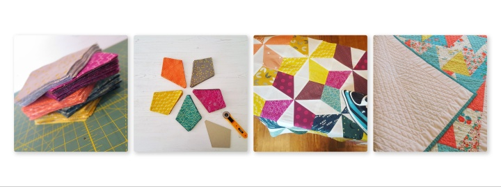 quilting long collage
